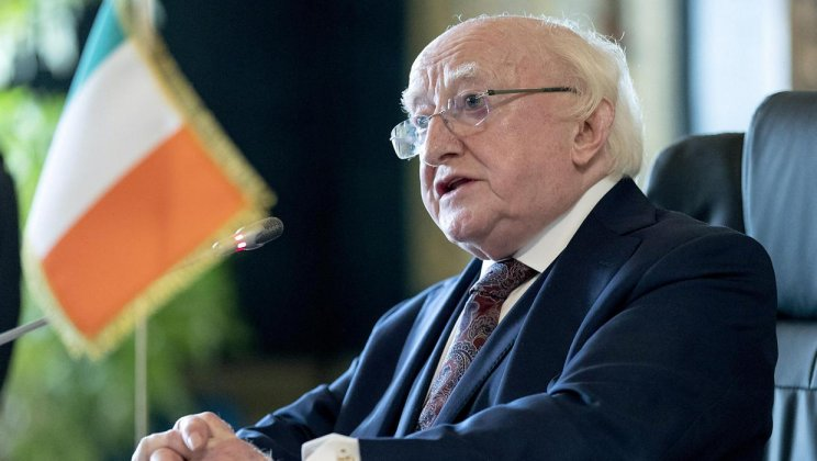 'I'm sure Mr Bruton would want to withdraw his remarks' – President hits out at ex-Taoiseach amid partition event saga