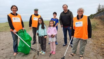Clean Coasts for north Wicklow is established
